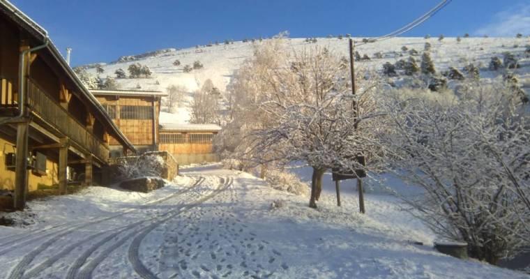 C'est l'hiver à Sainte-Luce!