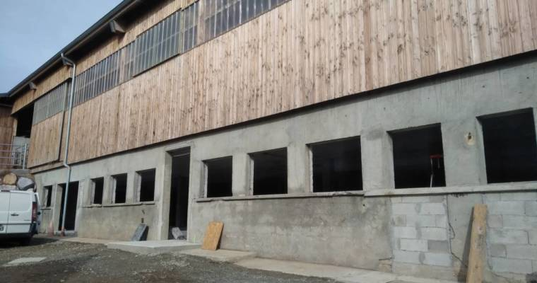 Future brasserie, le chantier progresse