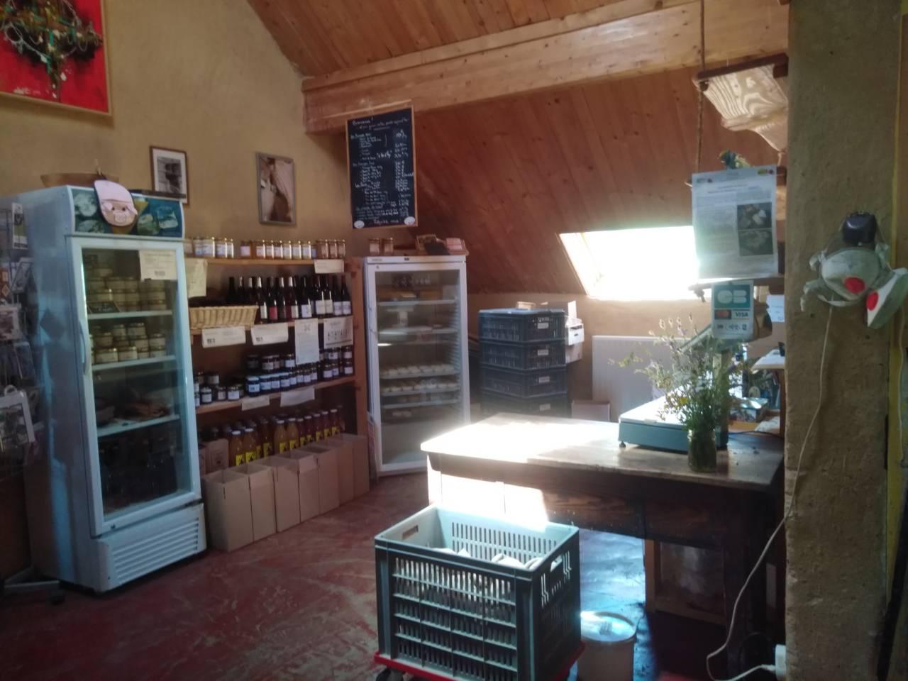Retrouvez nous en vente directe à la ferme tous les jours de 17h30 à 19h