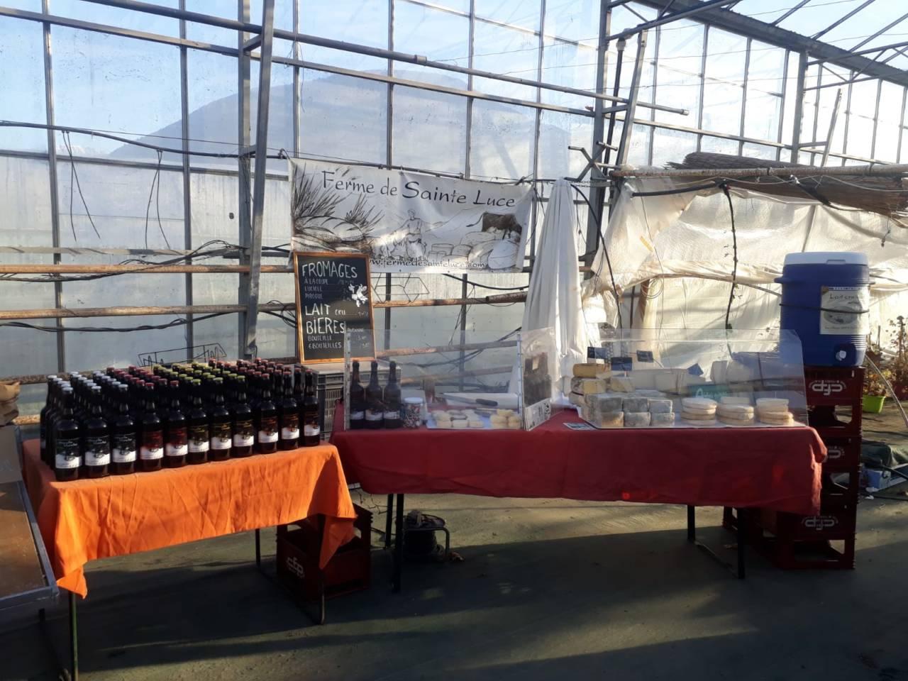 La ferme de Sainte-Luce à Varces tous les mercredi !
